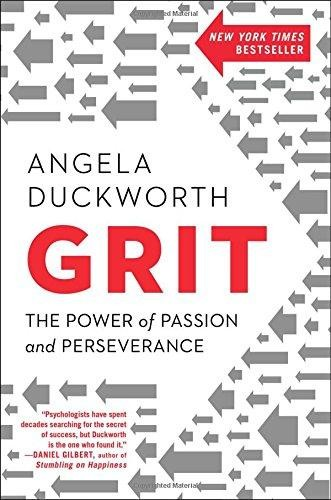 GRIT: THE POWER OF PASSION AND PERSEVERANCE (2016, SCRIBNER)