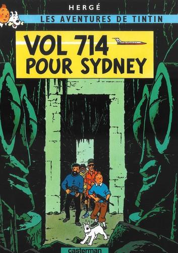 Vol 714 pour Sydney (French language, 1968, Casterman)