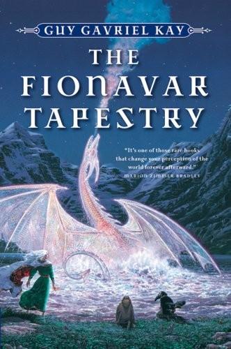 The Fionavar Tapestry 1. The Summer Tree 2. The Wandering Fire 3. The Darkest Road (1995, Harper Perennial)