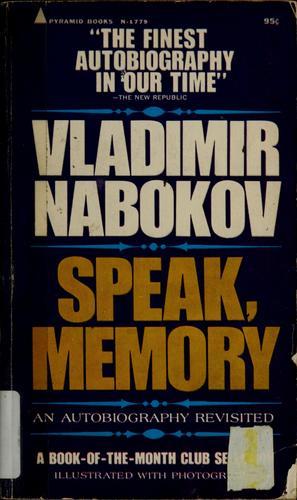 Speak, memory (1968, Pyramid)