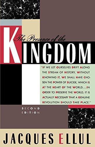 The Presence of the Kingdom (1967, Seabury Press)