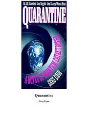 Quarantine (Hardcover, 1992, Legend Books)