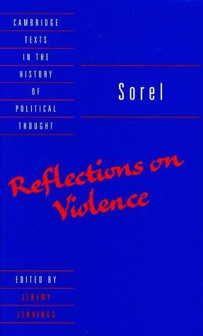 Reflections on Violence (Hardcover, 1999, Cambridge University Press)