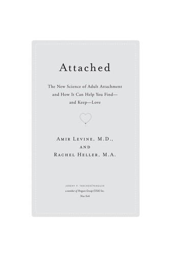 Attached (2010, Jeremy P. Tarcher)