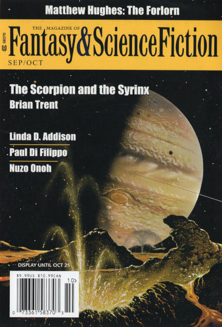 The Magazine of Fantasy & Science Fiction, September/October 2021 (2021, Spilogale, Inc.)