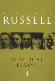 Sceptical Essays (1988, Routledge)