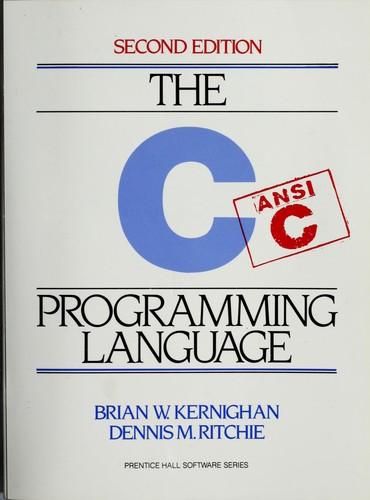 The C Programming Language (1988, Prentice Hall)