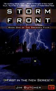 Storm front (The Dresden Files #1) (2000, ROC, New American Library)