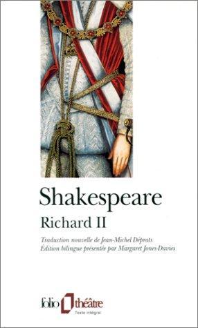 La Tragédie du roi Richard II (1998, Gallimard)