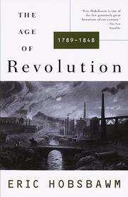 The age of revolution 1789-1848 (1996, Vintage Books)