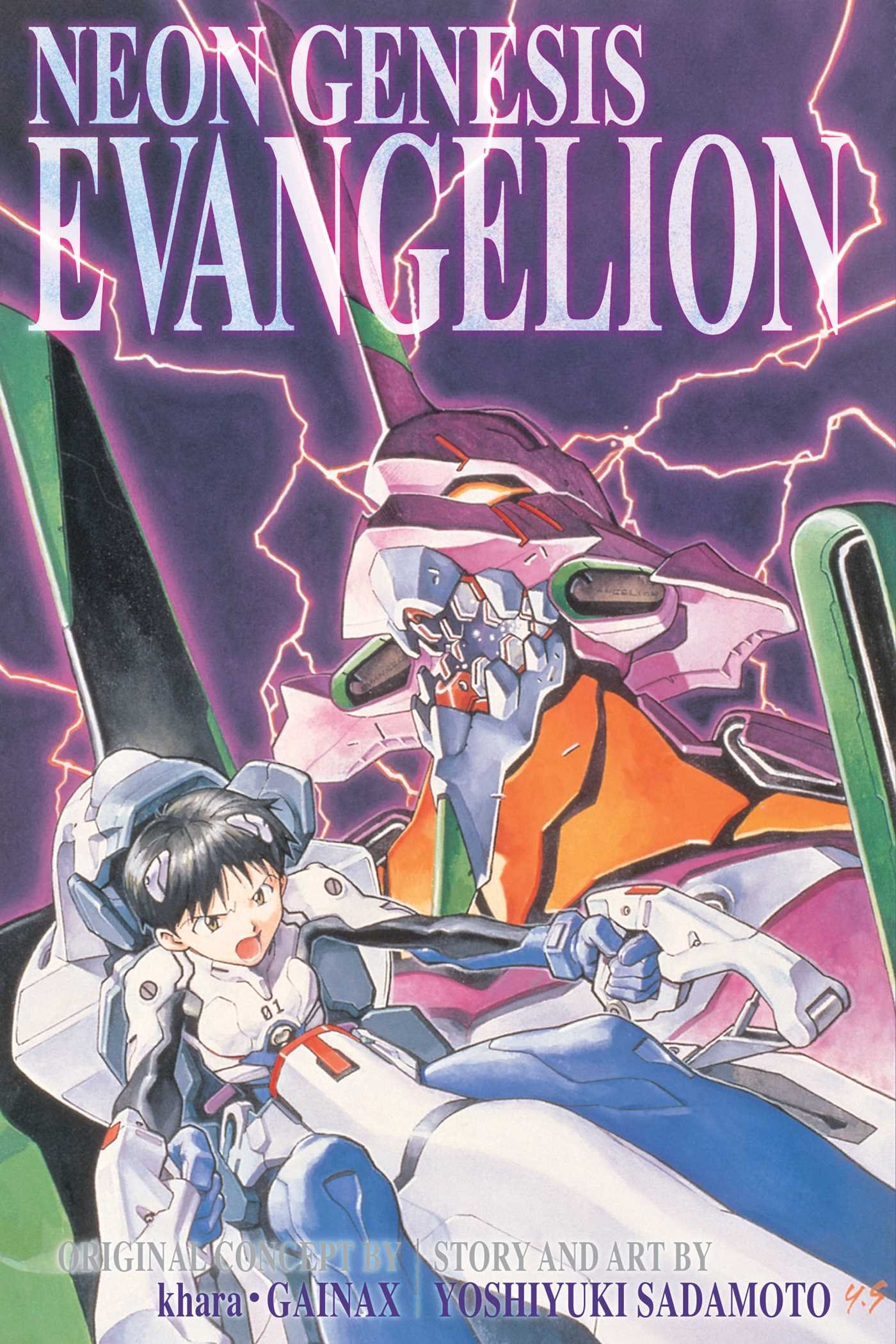 Neon Genesis Evangelion, Vol. 1 (2012, Viz Media)