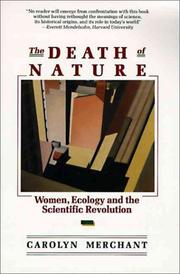 The Death of Nature (1990, HarperOne)