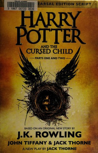 Harry Potter and the Cursed Child (2016, Arthur A. Levine Books, an imprint of Scholastic Inc.)
