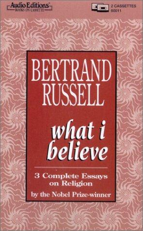 What I Believe (1995, The Audio Partners)