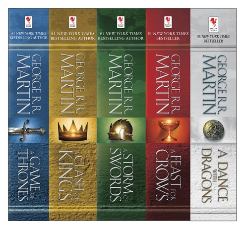 A Game of Thrones 5-Book Boxed Set (2012, Random House)