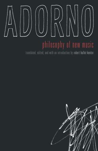 Philosophy Of New Music (Hardcover, 2006, Univ Of Minnesota Press)