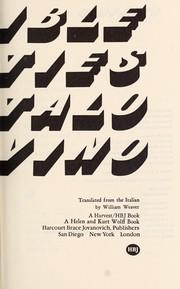 Invisible cities (1974, Harcourt Brace Jovanovich)