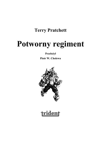 Potworny regiment (Polish language, 2008, Pro szyn ski i S-ka)