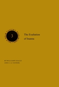 The Exaltation of Inanna (Hardcover, 1982, AMS Press)