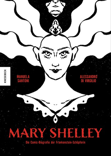 Mary Shelley (German language, 2021, Knesebeck Verlag)