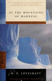 At the mountains of madness (2005, Modern Library)