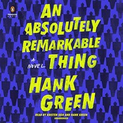 An Absolutely Remarkable Thing (2018, Penguin Audio)