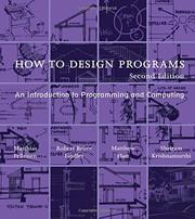 How to Design Programs (2018, The MIT Press)