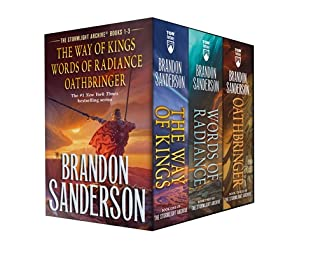 Stormlight Archive MM Boxed Set I, Books 1-3 (mass market paperback, 2020, Tor Fantasy)