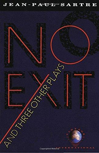 No Exit and Three Other Plays (1989)