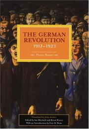 German Revolution, 1917-1923 (Historical Materialism Book) (2006, Haymarket Books)