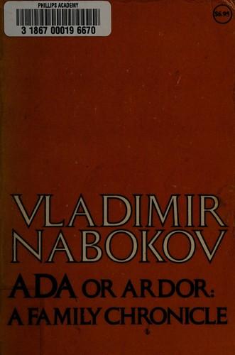 Ada Or Ardor a Family Chronicle (1980, Mcgraw-hill Inc)