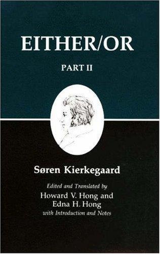 Either/Or (1987, Princeton Univ Pr)