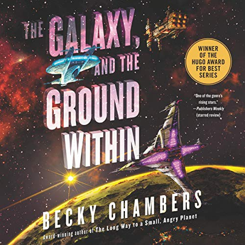 The Galaxy, and the Ground Within (audio cd, 2021, HarperCollins B and Blackstone Publishing)