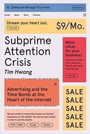 Subprime Attention Crisis (2020, FSG Originals)