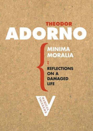 Minima Moralia (Paperback, 2006, Verso)