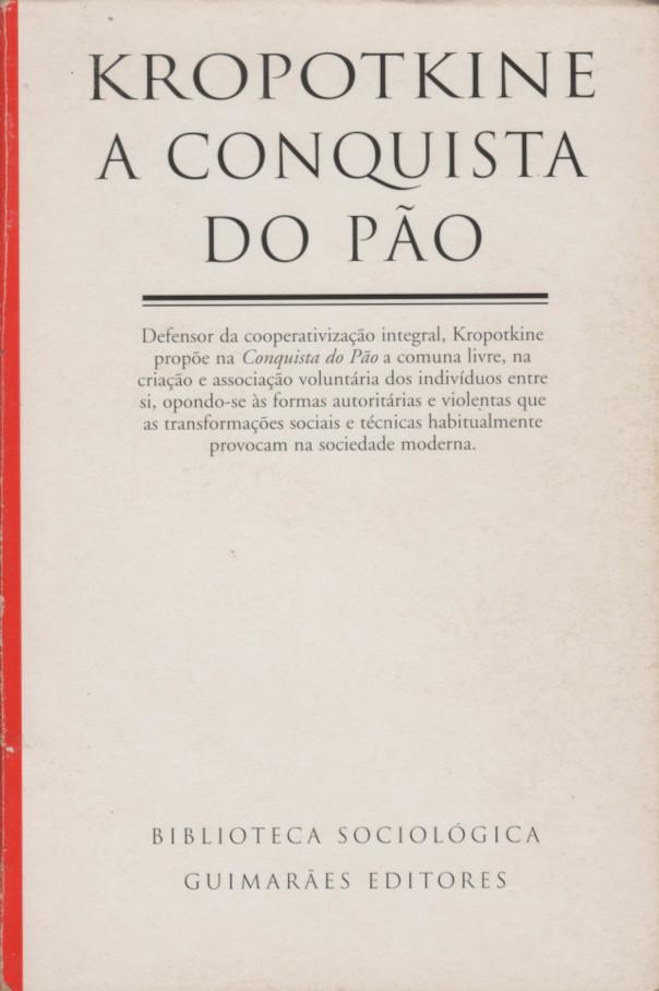A Conquista do Pão (1975, Guimarães Editores)