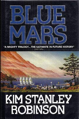 Blue Mars (hardcover, 1996, HarperCollins)
