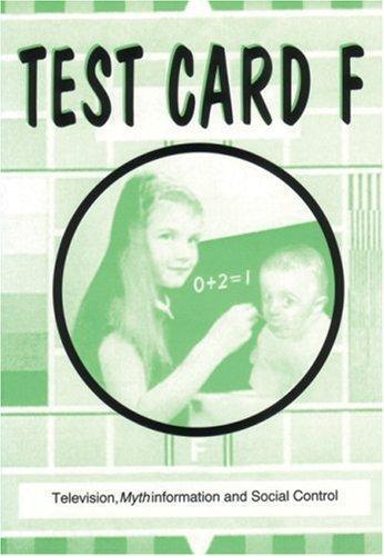 Test Card F (Paperback, 1994, AK Press)