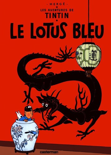 Le lotus bleu (French language, 1974, Casterman)