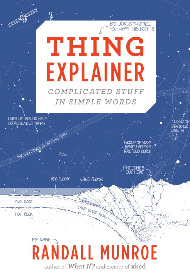 Thing Explainer (2015, Houghton Mifflin Harcourt Publishing Company)