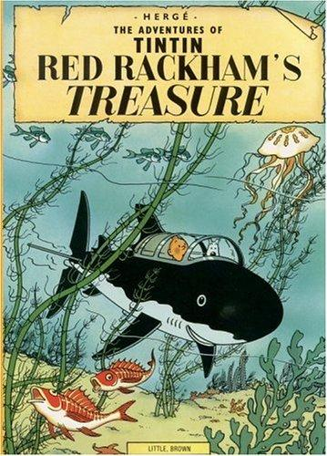Red Rackham's Treasure (The Adventures of Tintin) (Paperback, 1974, Little, Brown Young Readers)