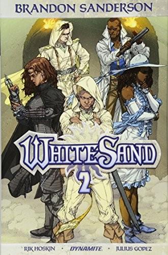 Brandon Sanderson's White Sand Volume 2 (hardcover, 2018, Dynamite Entertainment)