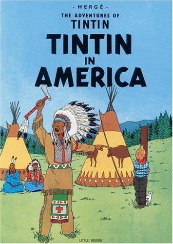 Tintin in America (1979, Little, Brown)