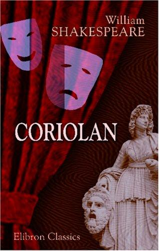 Coriolan (French language, 2001, Adamant Media Corporation)