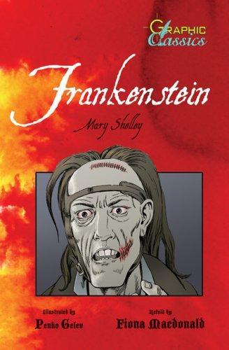 Frankenstein (Graphic Classics) (Hardcover, 2008, Barrons Educational Series)