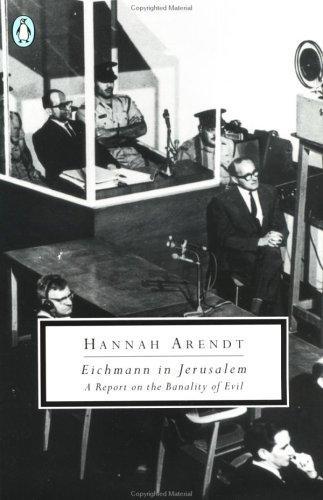 Eichmann in Jerusalem (1994, Penguin Books)