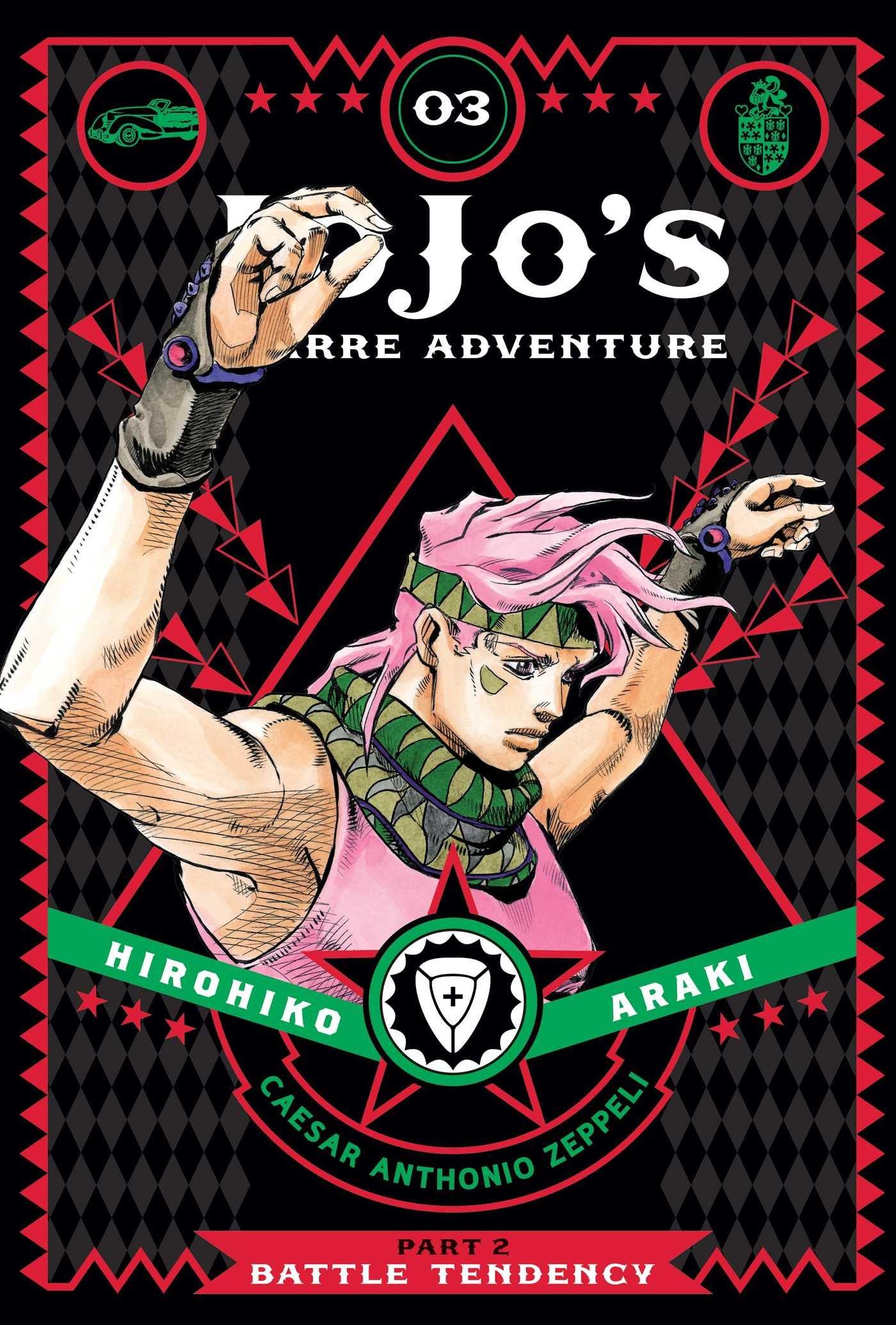 JoJo's Bizarre Adventure: Part 2--Battle Tendency, Vol. 3 (2016)
