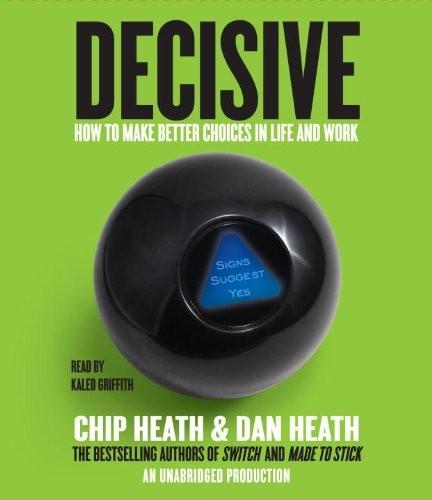 Decisive (audio cd, 2013, Random House Audio)