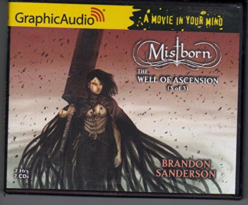 Mistborn (audio cd, 2008, GraphicAudio)