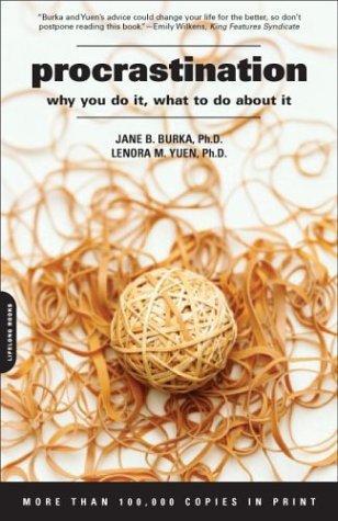 Procrastination (Paperback, 2004, Da Capo Press)